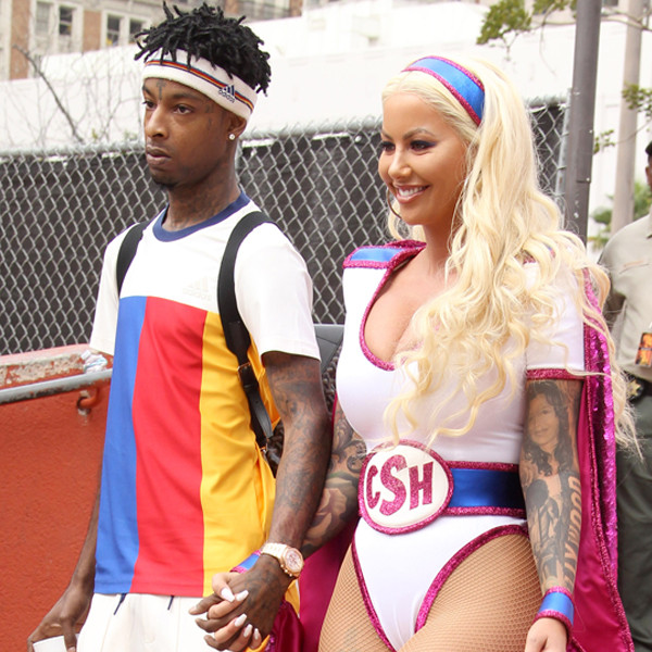 Amber Rose, 21 Savage, SlutWalk 2017