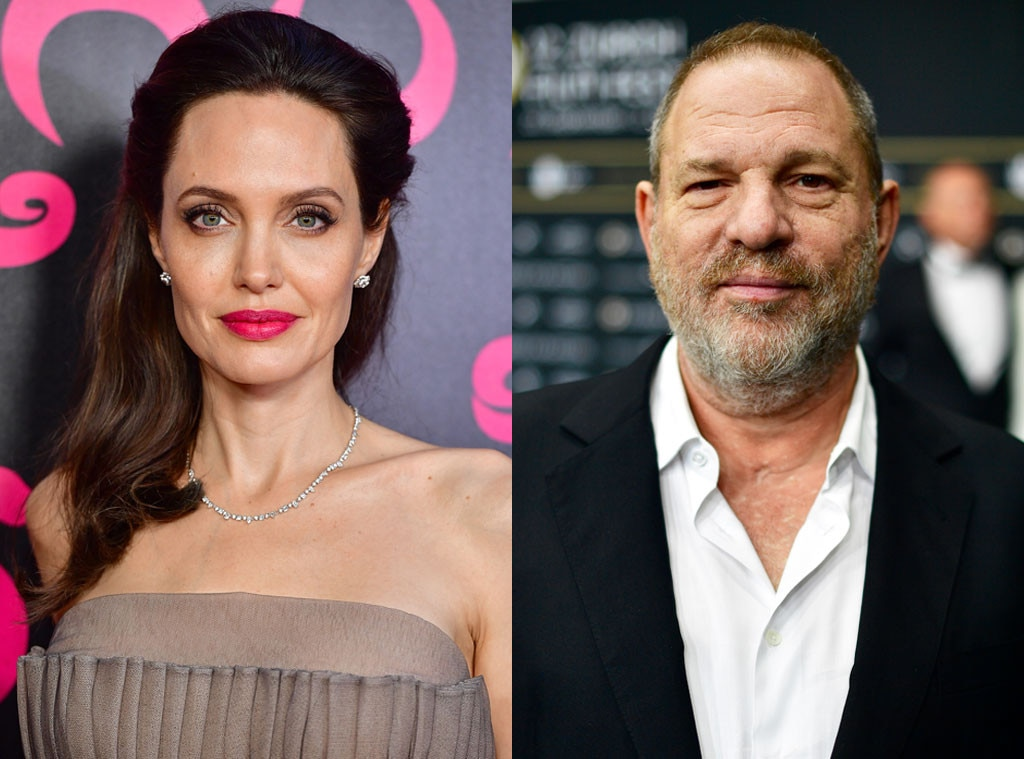 Angelina Jolie, Harvey Weinstein