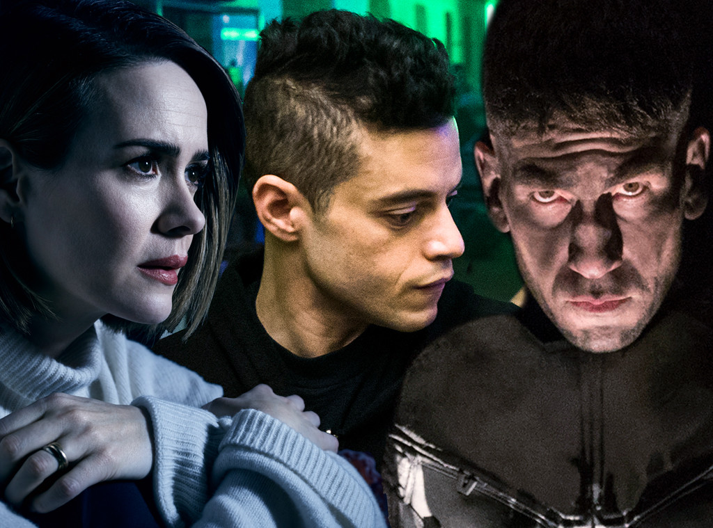 American Horror Story, Mr. Robot, The Punisher