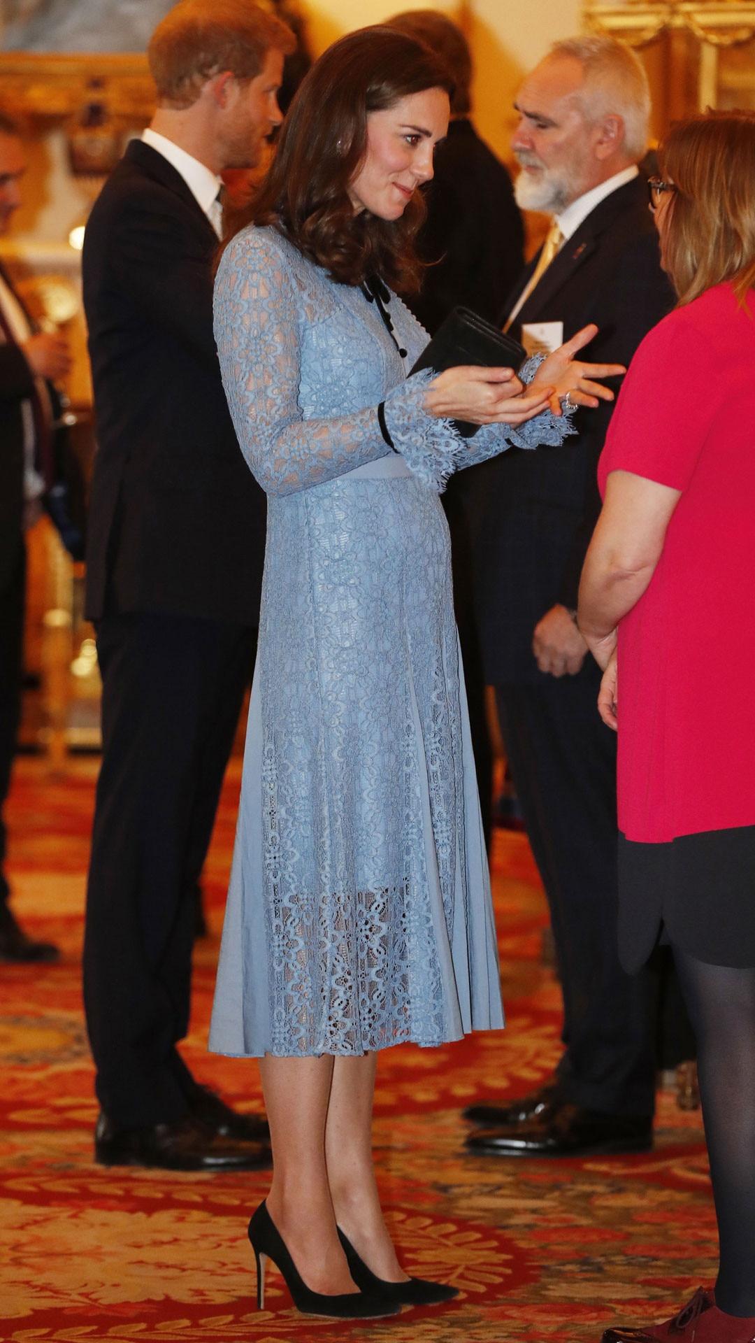 Kate Middleton, Bump