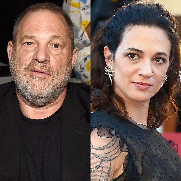 Asia Argento, Harvey Weinstein