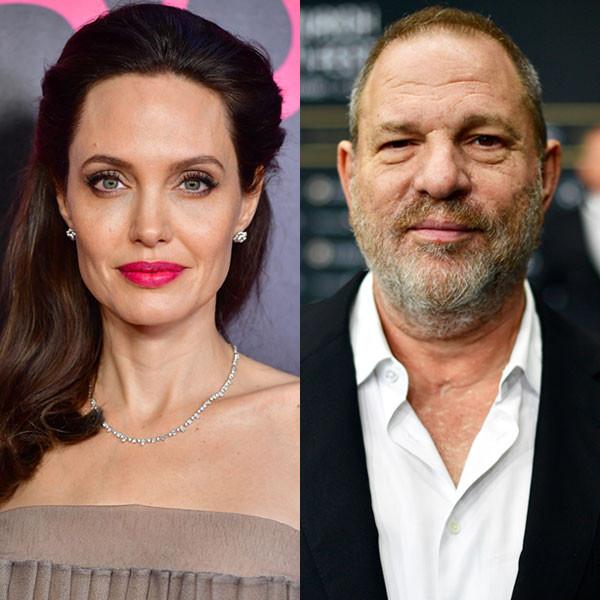 Angelina Jolie, Harvey Weinstein