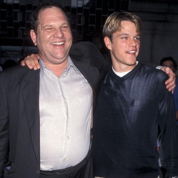 Harvey Weinstein, Matt Damon