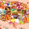 Halloween Candy, U.S., States