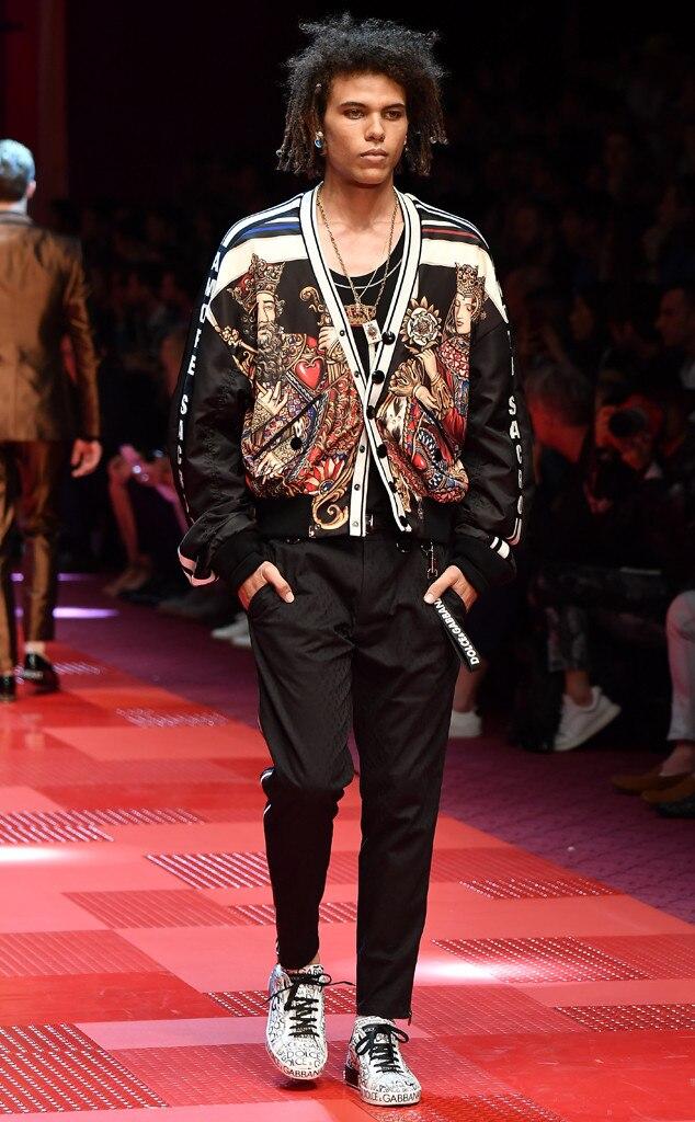 Roberto Rossellini, Model, Runway