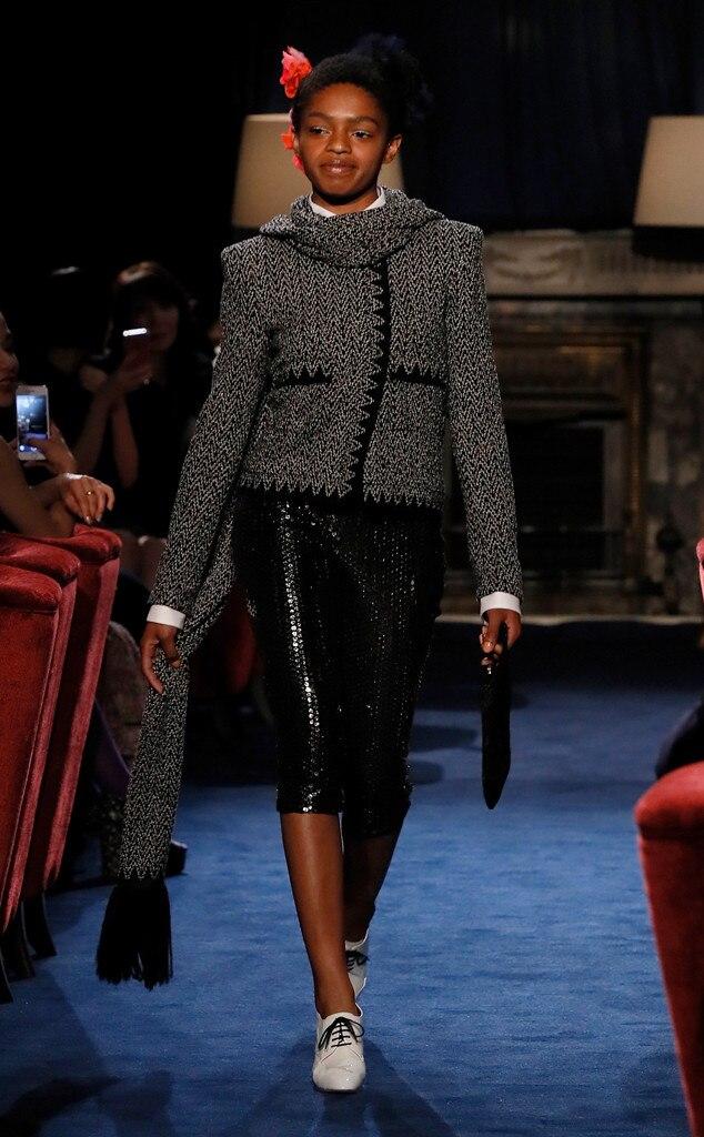 Selah Marley, Model, Runway