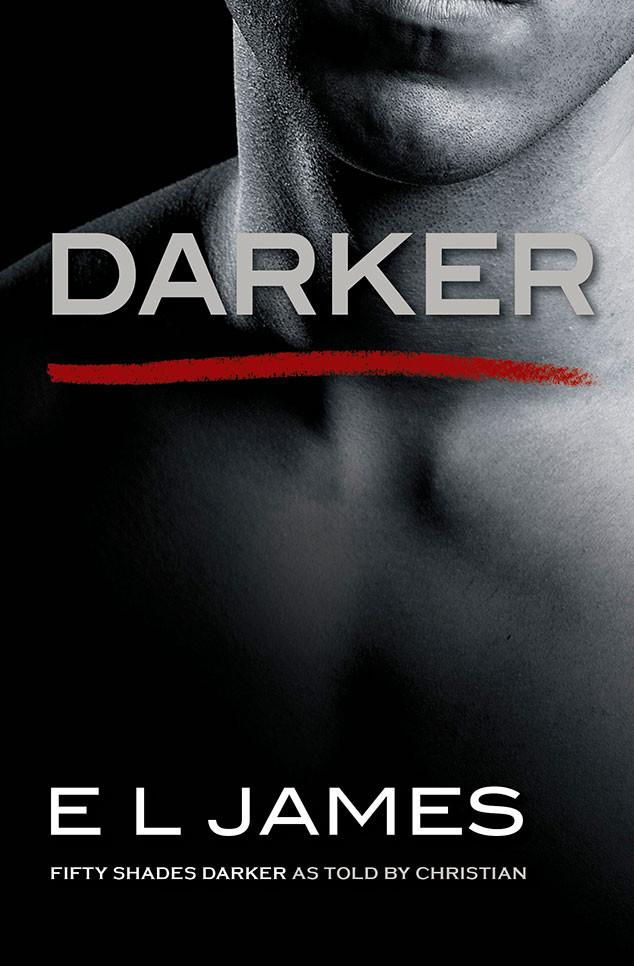 Fifty Shades Darker, Book Jacket, Darker
