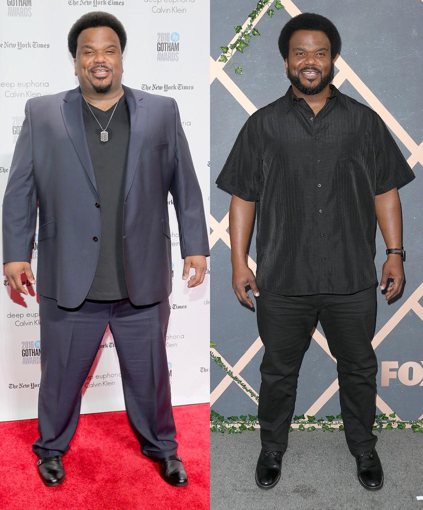 Craig Robinson, Weight Loss