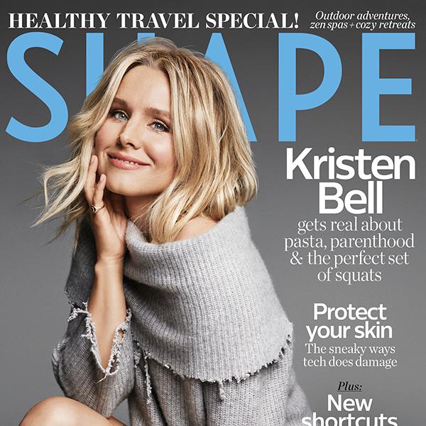 Kristen Bell, Shape, November 2017