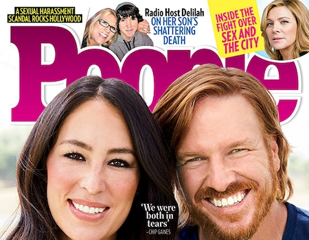 chip and joanna gaines open up about why they 39 re leaving hgtv e news. Black Bedroom Furniture Sets. Home Design Ideas