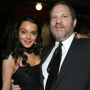 Lindsay Lohan, Harvey Weinstein