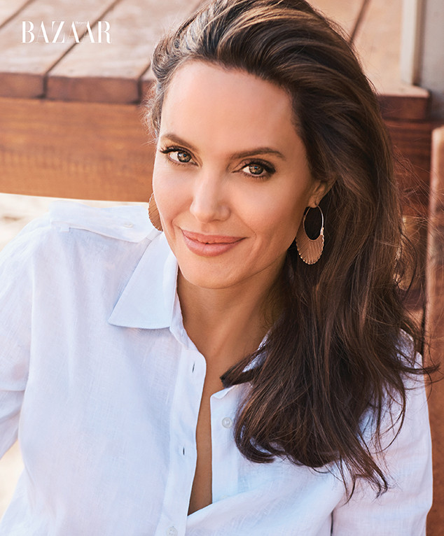 Angelina Jolie, Harper's Bazaar