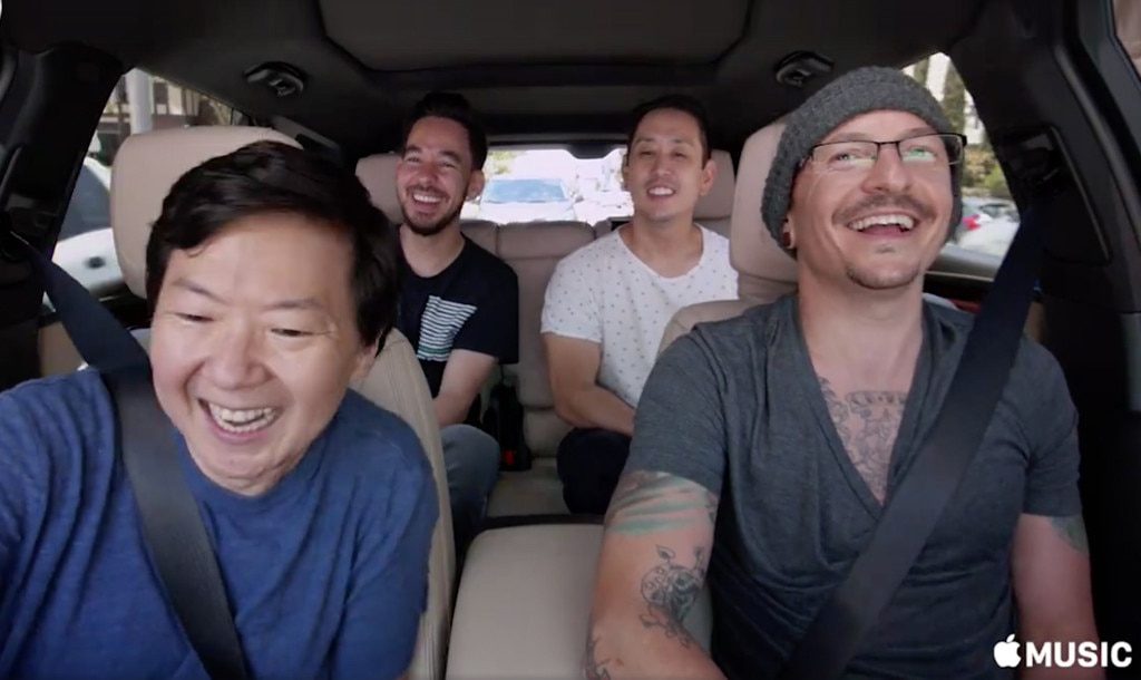 Chester Bennington, Linkin Park, Carpool Karaoke