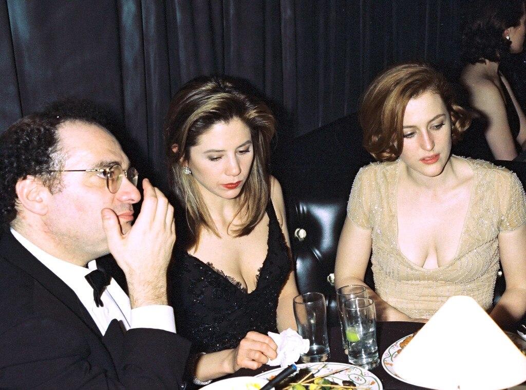 Bob Weinstein, Mira Sorvino, Gillian Anderson