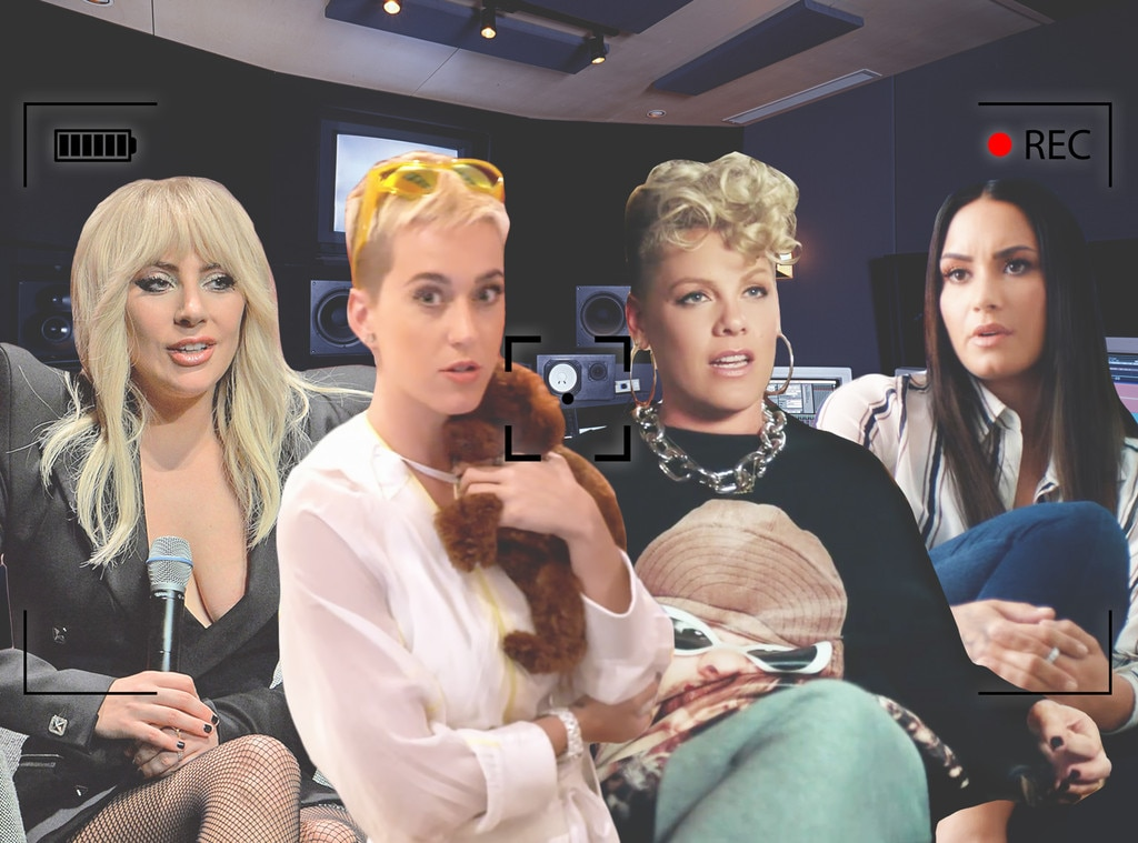 Lady Gaga, Demi Lovato, Katy Perry, Pink, Pop Star Documentaries