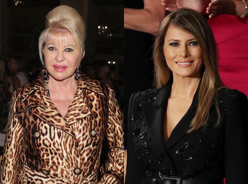 Ivana Trump, Melania Trump