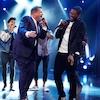 James Corden, Usher, Luke Evans, The Late Late Show, Riff-Off