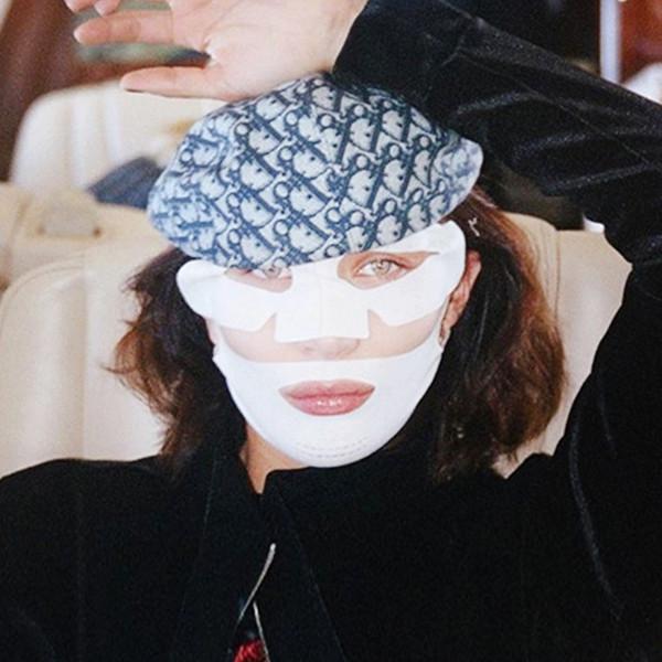ESC: Bella Hadid, Face Mask