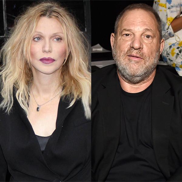 Courtney Love, Harvey Weinstein