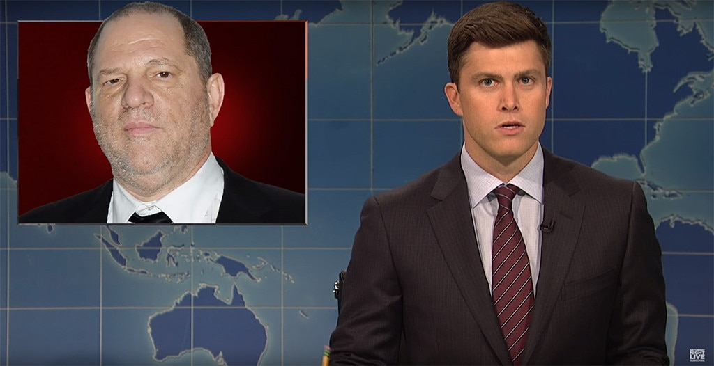 Colin Jost, Harvey Weinstein, SNL, Saturday Night Live, Weekend Update