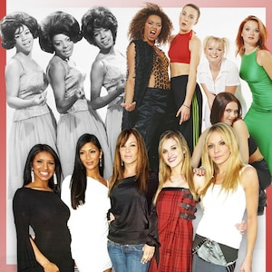 Girl Groups, The Supremes, Spice Girls, Pussycat Dolls