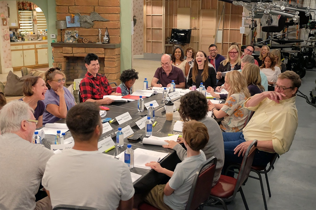 Here's a Quick Look at the Roseanne Revival Table Read