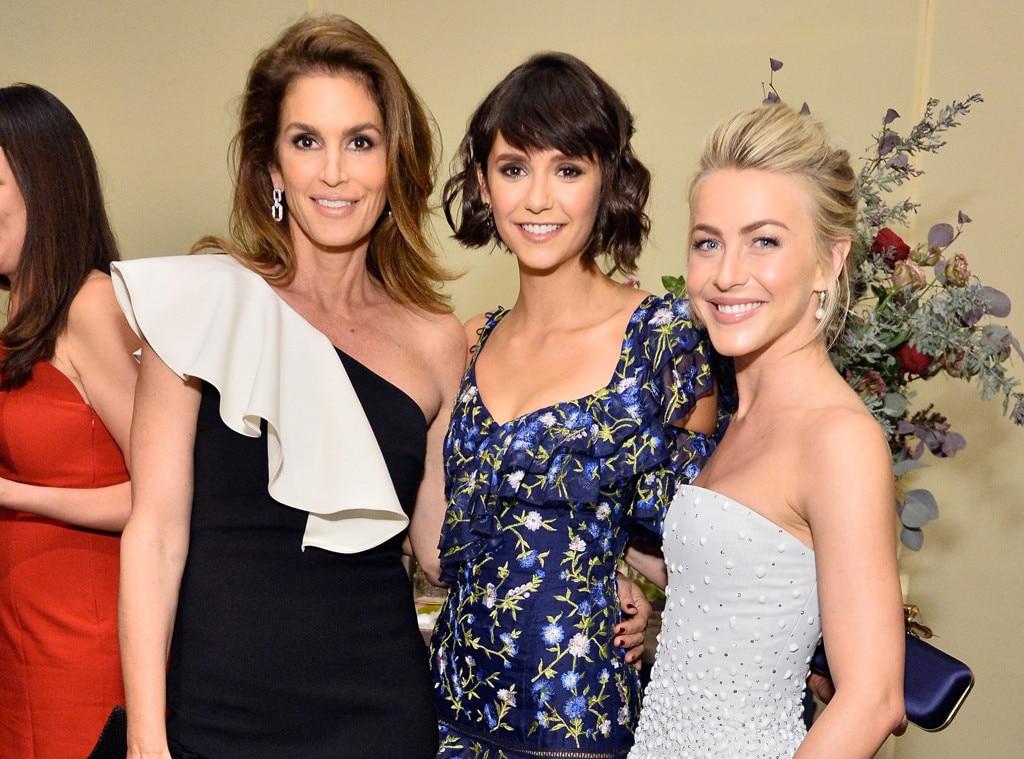 Cindy Crawford, Nina Dobrev, Julianne Hough, ELLEs 24th Annual Women in Hollywood