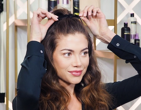 Three 1 Step Upgrades That Will Take Your Half Up Ponytail