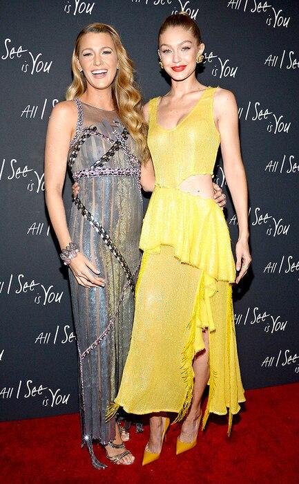 Blake Lively, Gigi Hadid