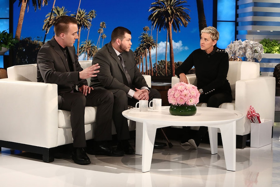 Jesus Campos, Ellen, Las Vegas Security Guard