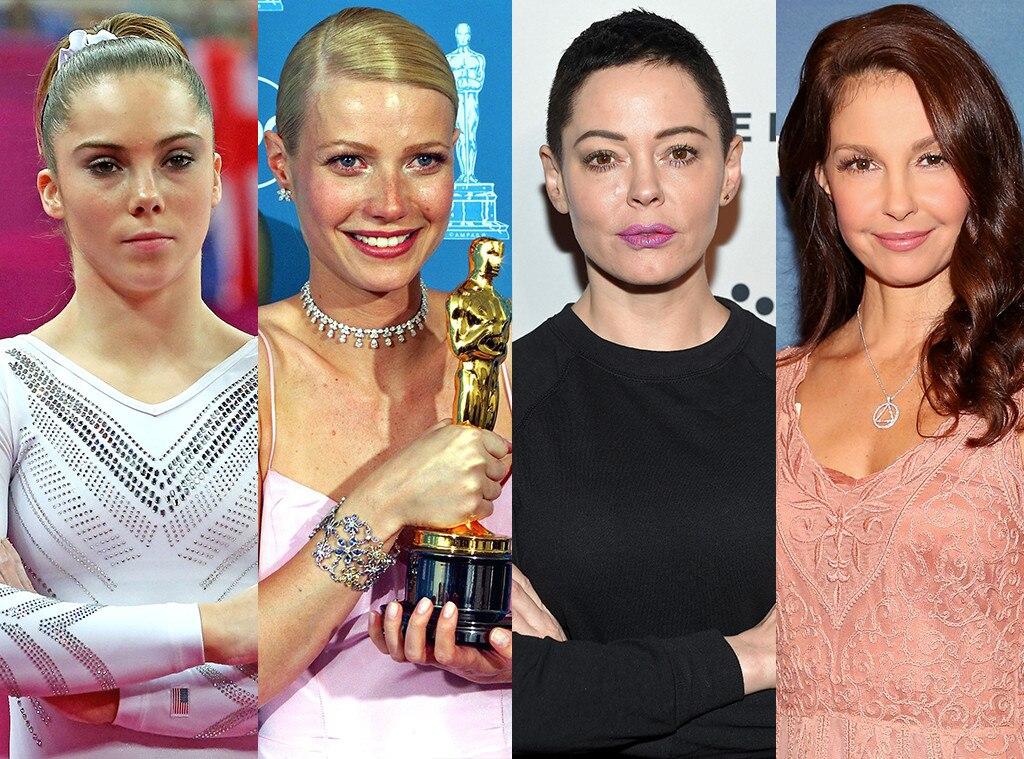 McKayla Maroney, Gwyneth Paltrow, Rose McGowan, Ashley Judd