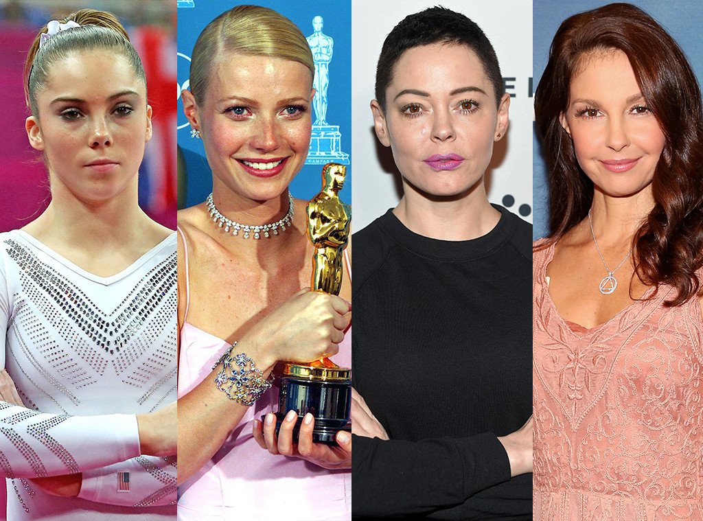 McKayla Maroney, Gwyneth Paltrow, Rose McGowan, Ashley Judd