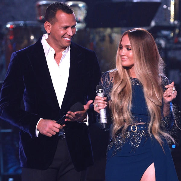 One Voice: Somos Live!, Jennifer Lopez, Alex Rodriguez