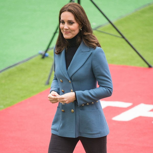 Kate Middleton: Beautiful In Blue