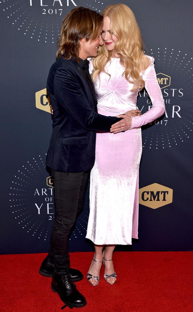 Nicole Kidman, Keith Urban, 2017 CMT Artists Of The Year