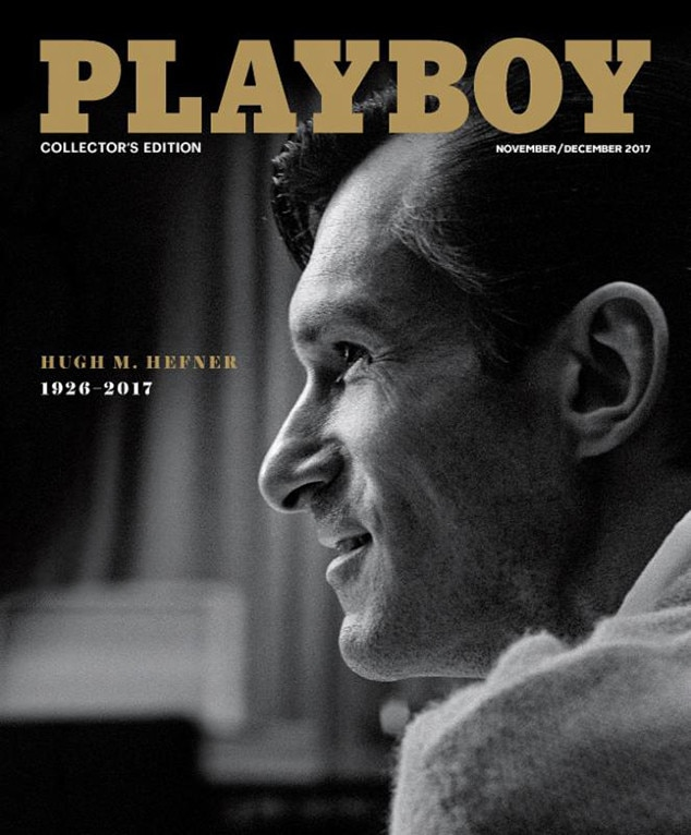 Young Hugh Hefner Graces 'Playboy' Cover in Honor of the Founder's Death