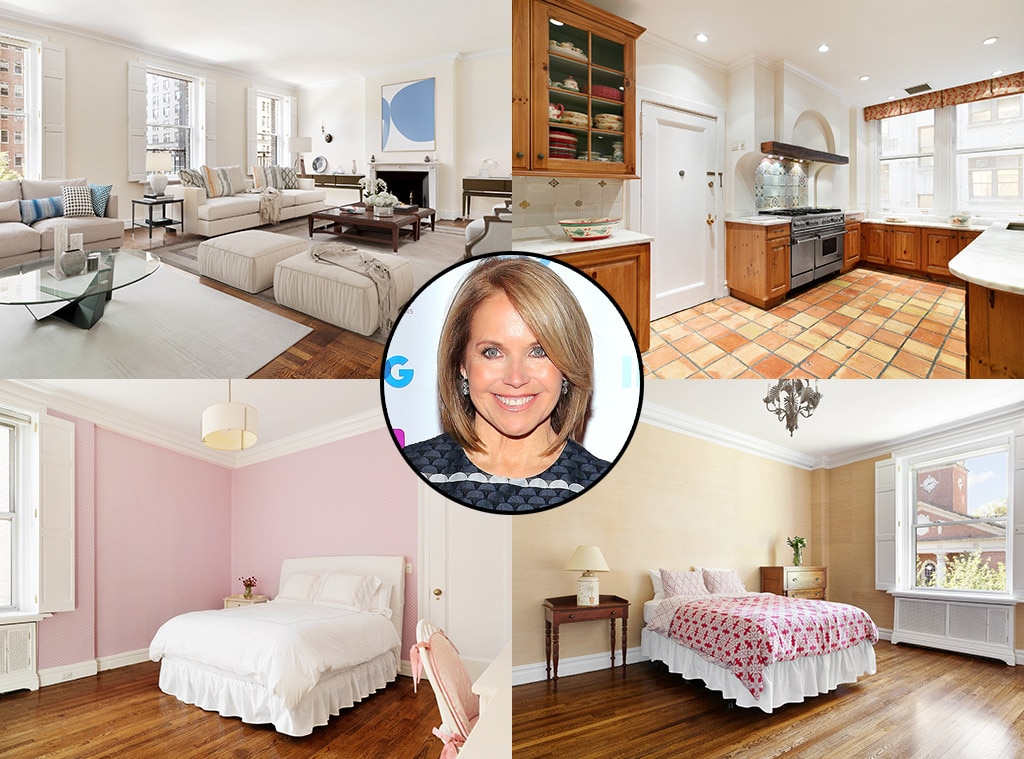 Katie Couric, Home