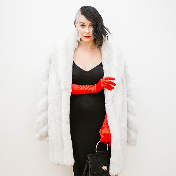 Lauren Conrad Unveils DIY Cruella de Vil Halloween Costume