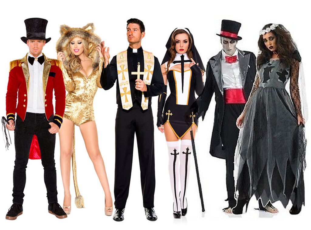 Branded: Couples Halloween Costumes