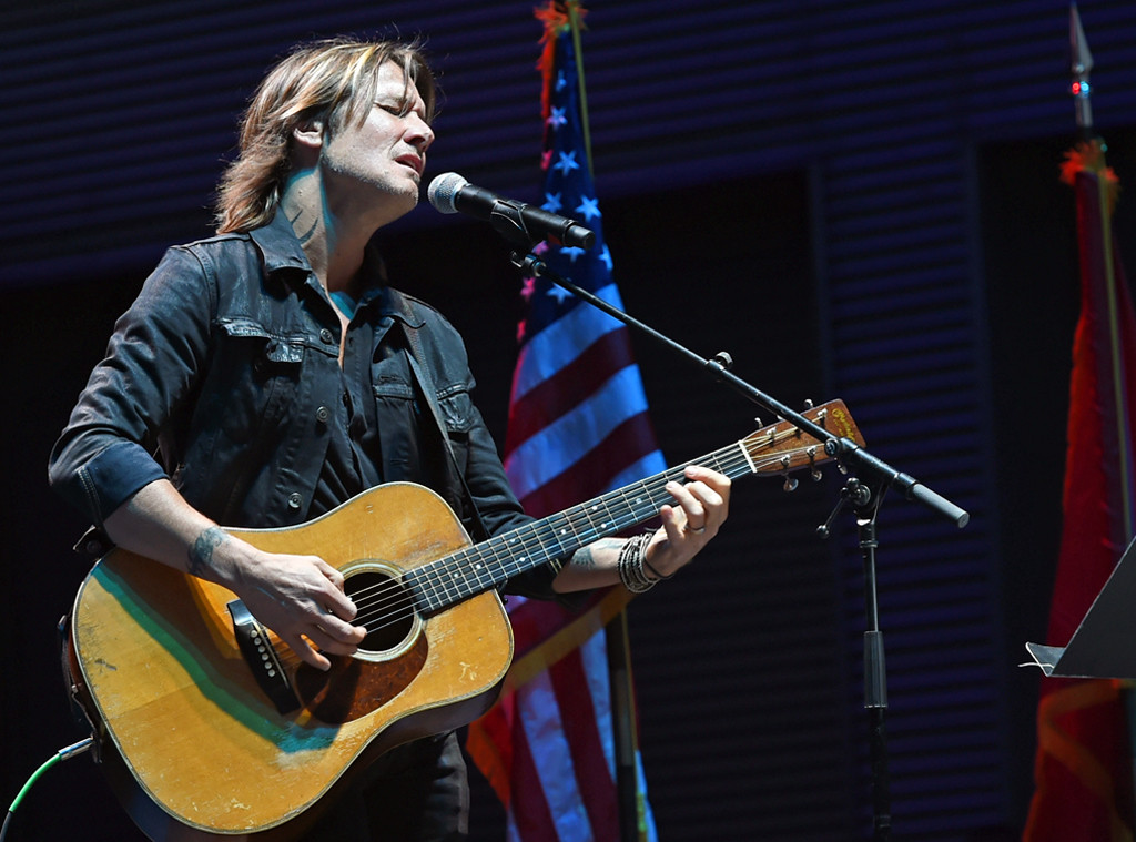 Keith Urban, Nashville Candlelight Vigil For Las Vegas