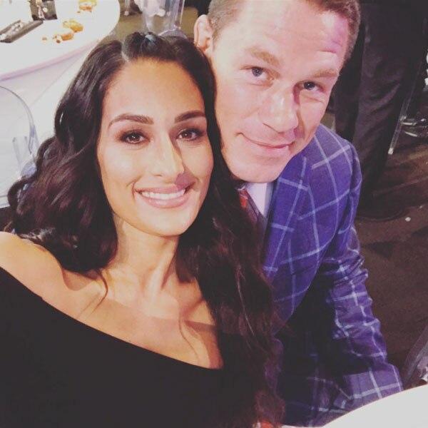 John Cena, Nikki Bella, Instagram
