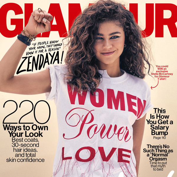 Zendaya, Glamour Magazine