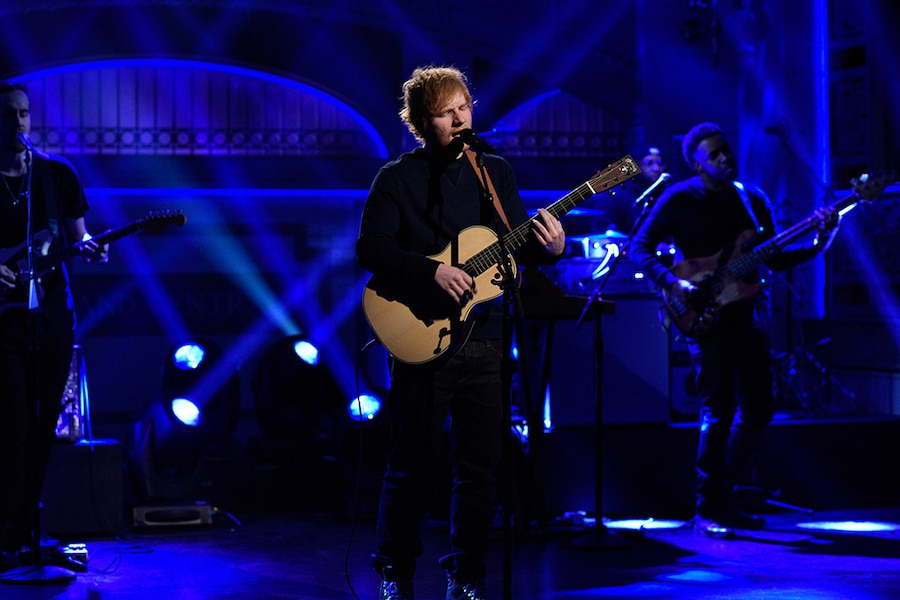 Ed Sheeran, Saturday Night Live, SNL