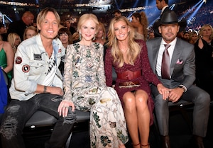 Keith Urban, Nicole Kidman, Faith Hill, Tim McGraw