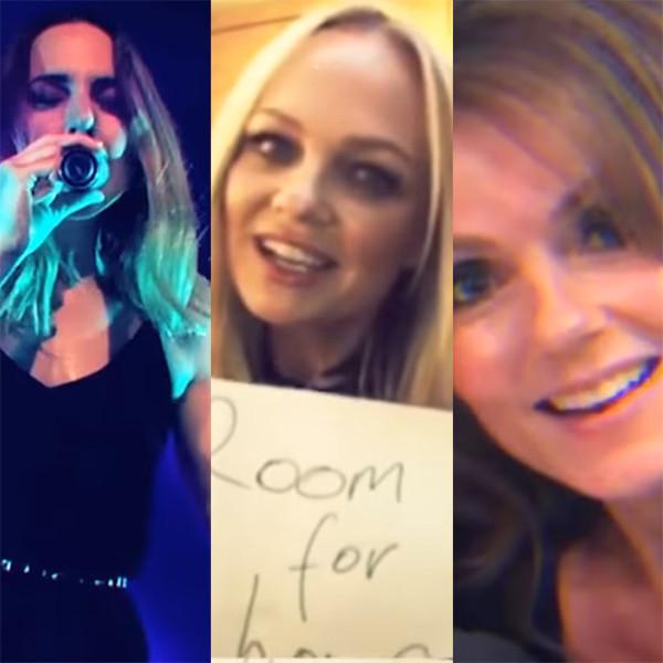 Mel C, Melanie C, Spice Girls, Reunion, Room for Love Video, Emma Bunton, Geri Horner, Victoria Beckham, Geri Halliwell