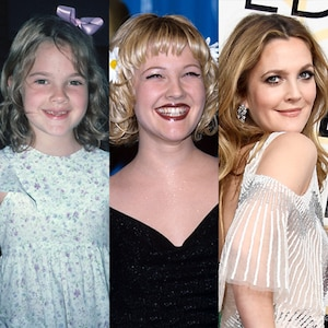 Drew Barrymore, Evolution, Then and Now