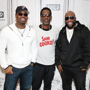 Boyz II Men, Nathan Morris, Shawn Stockman and Wanya Morris