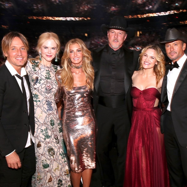 Keith Urban's Famous Friends