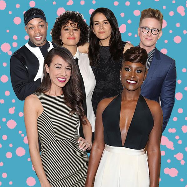 YouTube Stars, Todrick Hall, Miranda Sings, Tyler Oakley, Abbi Jacobson & llana Glazer, Issa Rae