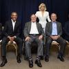 Lady Gaga, 5 Presidents, Jimmy Carter, George H.W. Bush, George W. Bush, Bill Clinton, Barack Obama, One America Appeal Concert